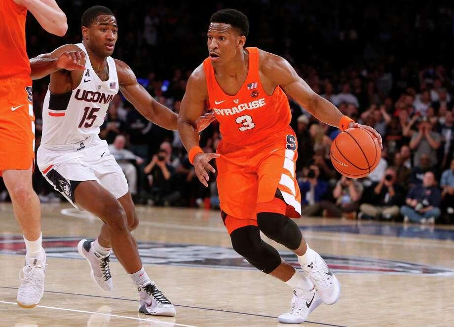 DaJuan Coleman impresses for Syracuse, despite loss to UConn