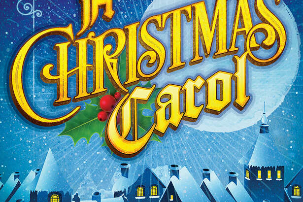"The promotional art for the Rep's production of ""A Christmas Carol."""