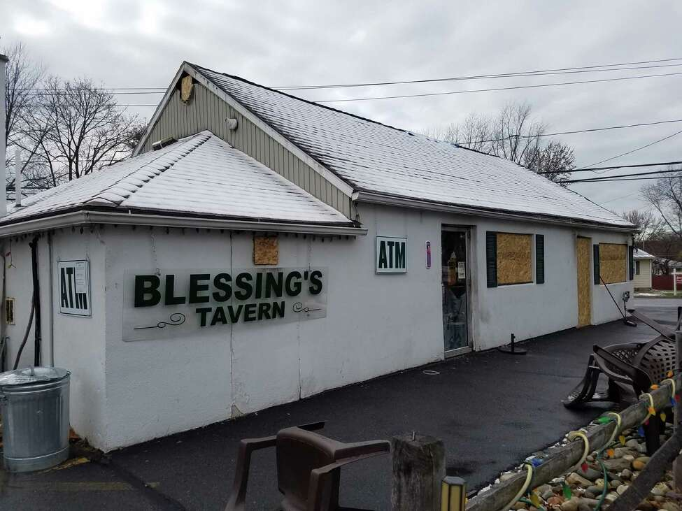 Blessing's Tavern at the intersection of Watervliet-Shaker and Consaul roads in Colonie has been closed since the horrific crash that badly burned 16-year-old Niko DiNovo, who remains at Westchester Medical Center. The building will be razed, but owner Liz Altrock plans to rebuild. (Chris Churchill / Times Union)