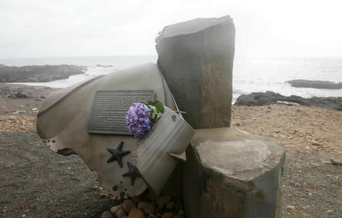 What is a sneaker wave? Sneaker waves are one of the deadliest weather hazards on the West Coast, killing more people than all other weather hazards combined. Pictured: This 2016 file photo shows a memorial statue honoring Connor Ausland and Jack Harnsongkram at Smelt Sands State Recreation Site near Yachats on the Oregon coast. The two Oregon teens were swept out to sea by a sneaker wave at the park in 2011.