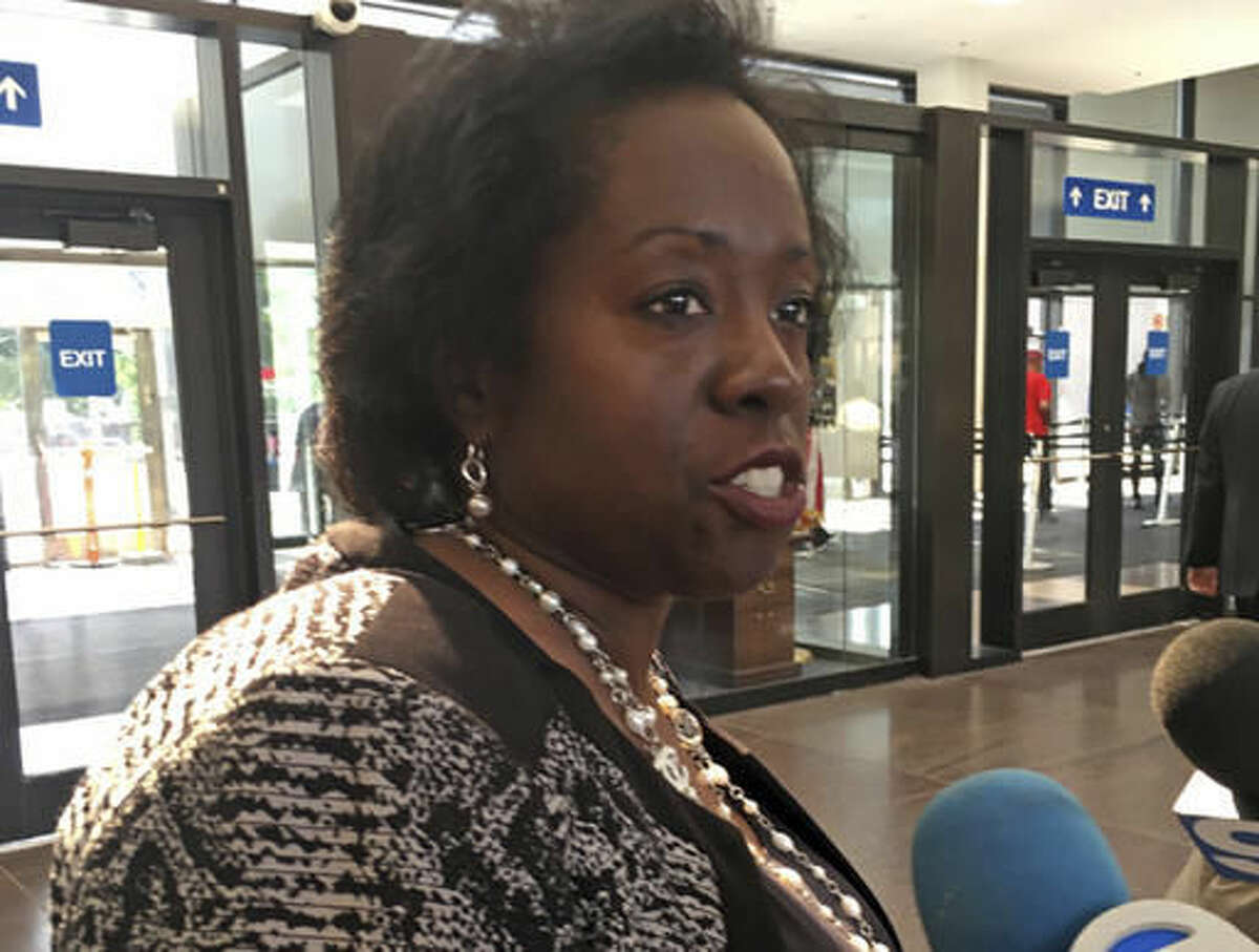FILE - This undated file photo shows Patricia Brown Holmes, a former federal prosecutor who was named special prosecutor to consider if Chicago police officers were involved in a cover up in the 2014 fatal shooting of Laquan McDonald in Chicago. Holmes said Wednesday, Nov. 16, 2016, that a grand jury has been impaneled to hear evidence into the possible cover-up. (Rummana Hussain/Chicago Sun Times via AP, File )