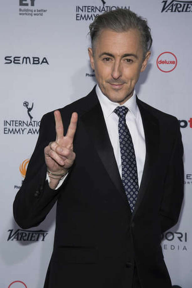 Alan Cumming attends the 44th International Emmy Awards at the New York Hilton on Monday, Nov. 21, 2016, in New York. (Photo by Charles Sykes/Invision/AP) Photo: Charles Sykes