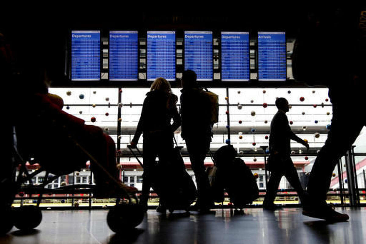 9. O'Hare International Airport - Chicago, Illinois Percentage of flights delayed: 19 Percentage of flights cancelled:1 Average minutes fights are delayed: 64
