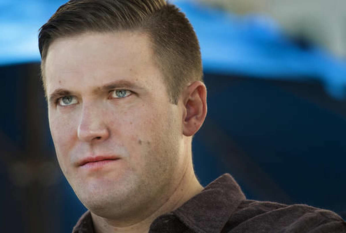 FILE - In this Nov. 18, 2016, file photo, Richard Spencer attends a white nationalist and