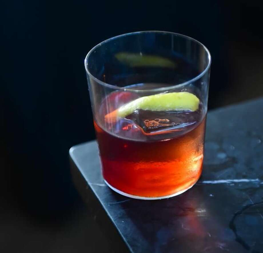 The Silent Night cocktail.