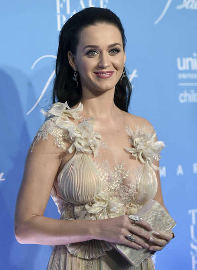 Katy Perry attends the 12th annual UNICEF Snowflake Ball at Cipriani Wall Street on Tuesday, Nov. 29, 2016, in New York. (Photo by Evan Agostini/Invision/AP) Photo: Evan Agostini