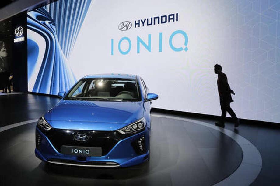 The most fuel efficient carsHyundai Ioniq ElectricMiles per gallon: 136 Photo: Jae C. Hong
