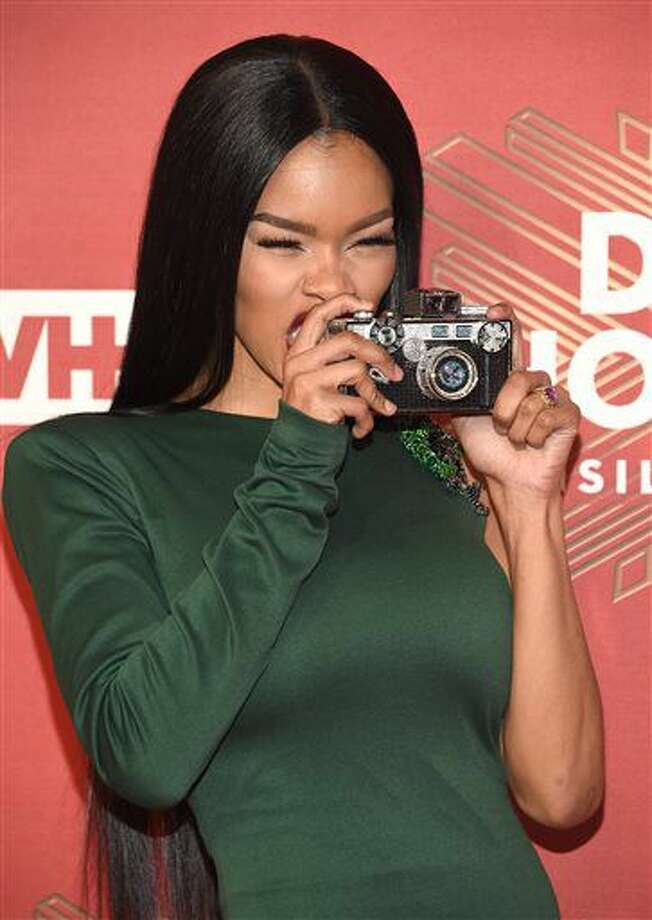 "Teyana Taylor attends VH1 Divas Holiday: ""Unsilent Night"" at Kings Theatre on Friday, Dec. 2, 2016, in New York. (Photo by Evan Agostini/Invision/AP)"