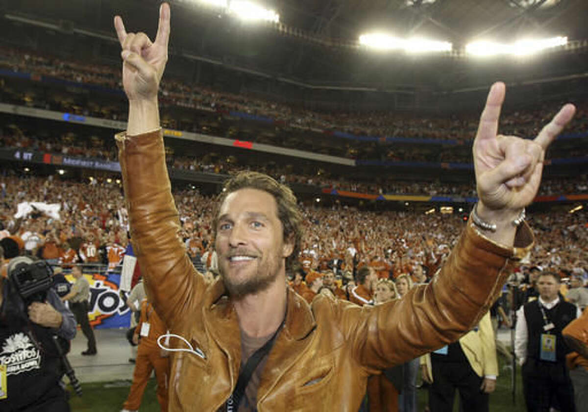UT graduate and Oscar-winning actor Matthew McConaughey is joining the university as a faculty member. (AP Photo/Ross D. Franklin, File)