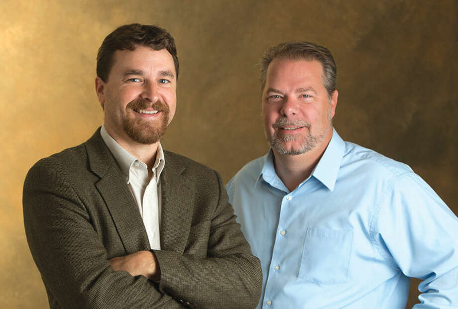 Dr. Stephen Hupp, left, and Dr. Jeremy Jewell, professors of psychology at SIUE.