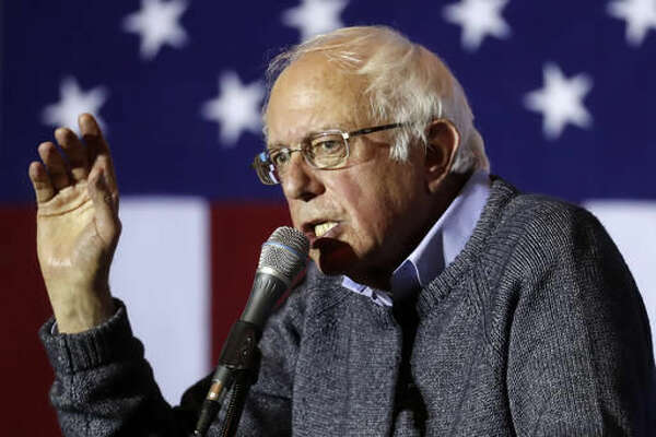 In this Nov. 3, 2016, photo, Sen. Bernie Sanders, I-Vt., campaigns for Democratic presidential candidate Hillary Clinton at the University of Cincinnati. President Barack Obama hands over the White House to Republican Donald Trump in 71 days, leaving the Democratic Party leaderless and with few up-and-coming stars among its aging cast of stalwarts. The defeat of Clinton, an experienced Washington politician who sought common ground with Republicans, could make it more likely that the party will turn to its liberal wing as it grapples with its future. That's best represented by Sanders, whom Clinton defeated in a long primary, and Massachusetts Sen. Elizabeth Warren, a pull-no-punches progressive darling. (AP Photo/John Minchillo)