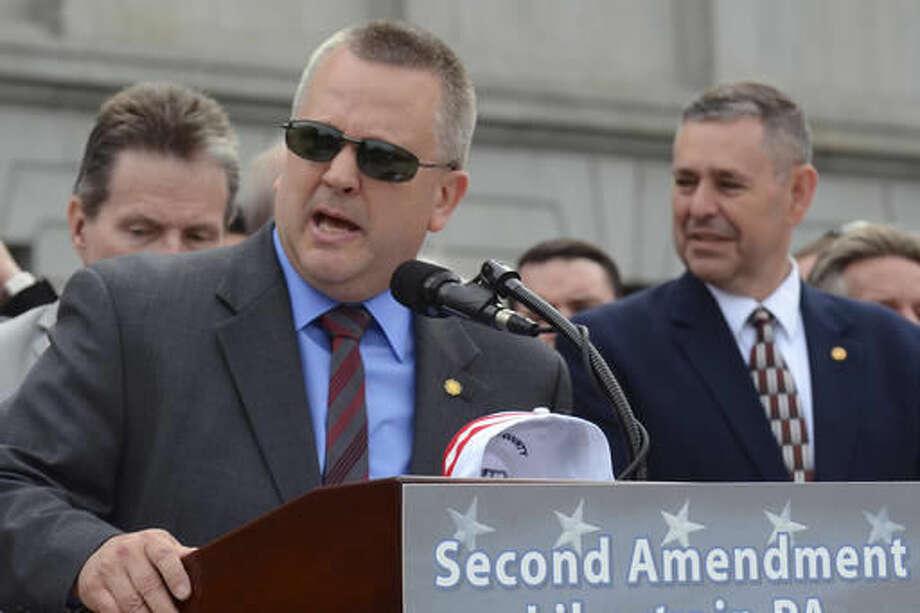 GOP lawmaker tells Dem to stop touching him during Pa. meeting