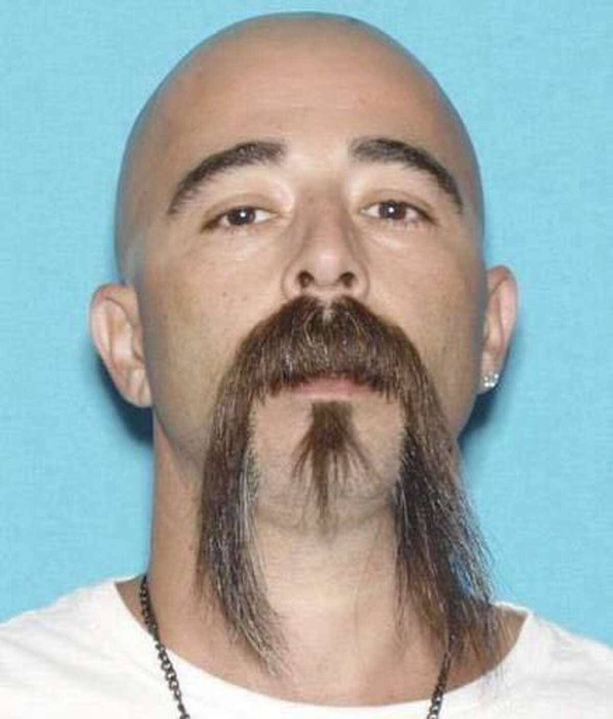 David Machado is seen in an undated photo provided by the Stanislaus County Sheriff's Department. Marchado, a suspect in the fatal shooting of a Stanislaus County Sheriff's deputy outside the city of Hughson, Calif. Sunday, Nov. 13, 2016, was arrested in Tulare County, according to the according to the Stanislaus County Sheriff's Department. (Stanislaus County Sheriff's Department via AP)