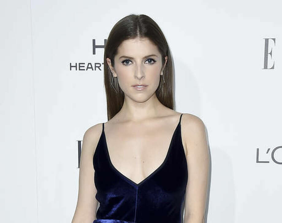 """FILE - In this Oct. 24, 2016 file photo, Anna Kendrick arrives at the 23rd annual ELLE Women in Hollywood Awards in Los Angeles. Kendrick released a book, """"Scrappy Little Nobody,"""" with anecdotes and musings from her life. (Photo by Jordan Strauss/Invision/AP, File) Photo: Jordan Strauss"""