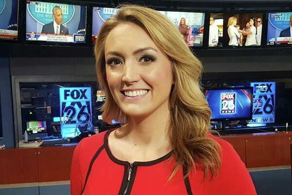 FILE - A photograph of Lindsey Henry, a general assignments reporter with Houston's KRIV-TV. Previously, Henry was a news reporter with Fresno's KSEE-TV from May 2015 to October 2016. She is a graduate of Cinco Ranch High School and Sam Houston State University.