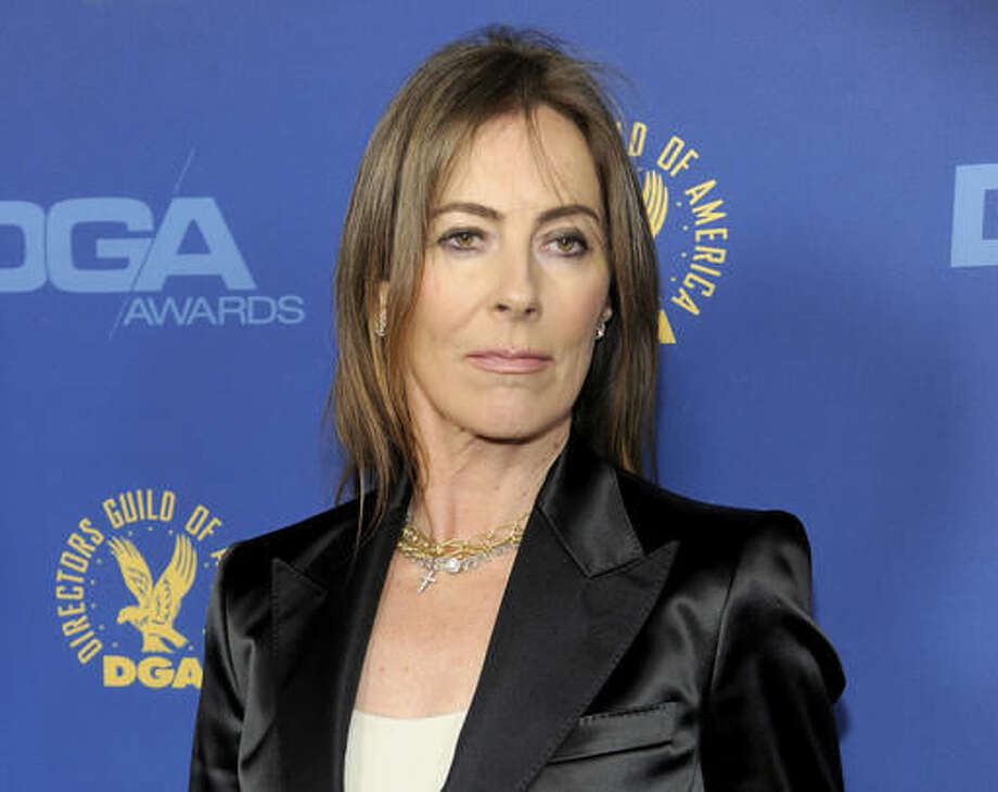 """FILE - In this Feb. 2, 2013 file photo, Kathryn Bigelow arrives at the 65th Annual Directors Guild of America Awards in Los Angeles. The Tribeca Film Festival announced Thursday, Nov. 17, 2016 that Bigelow's virtual-reality film, """"The Protectors: Walk in the Ranger's Shoes,"""" will be a part of its annual April festival. (Photo by Chris Pizzello/Invision/AP, File)"""