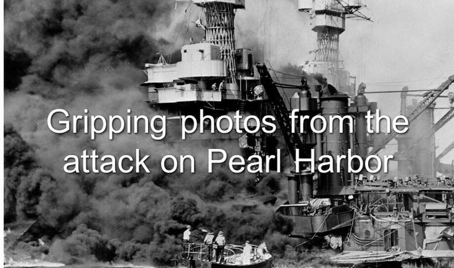 Continue clicking to see more photos of the attack on Pearl Harbor in 1941. Photo: Library Of Congress, AP