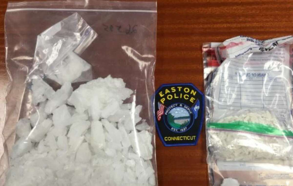 Suspected crystal meth seized from an Easton home on Monday, Dec. 5, 2016.