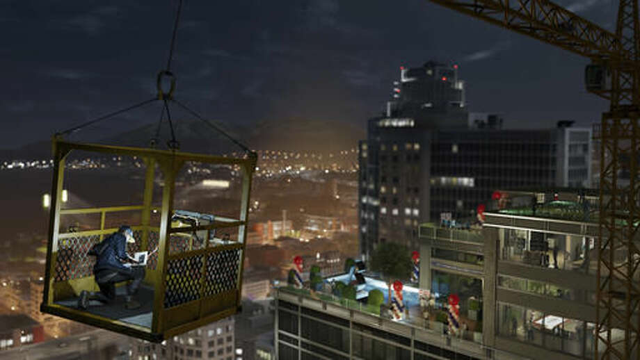 """This image released by Ubisoft shows a scene from the video game, """"Watch Dogs 2."""" (Ubisoft via AP)"""