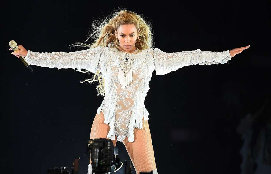 Beyoncé, performing at Dodger Stadium in September, is the first artist nomin ated for Grammys in the rock, pop, R&B and rap categories in the same year. Photo: PictureGroup, TNS