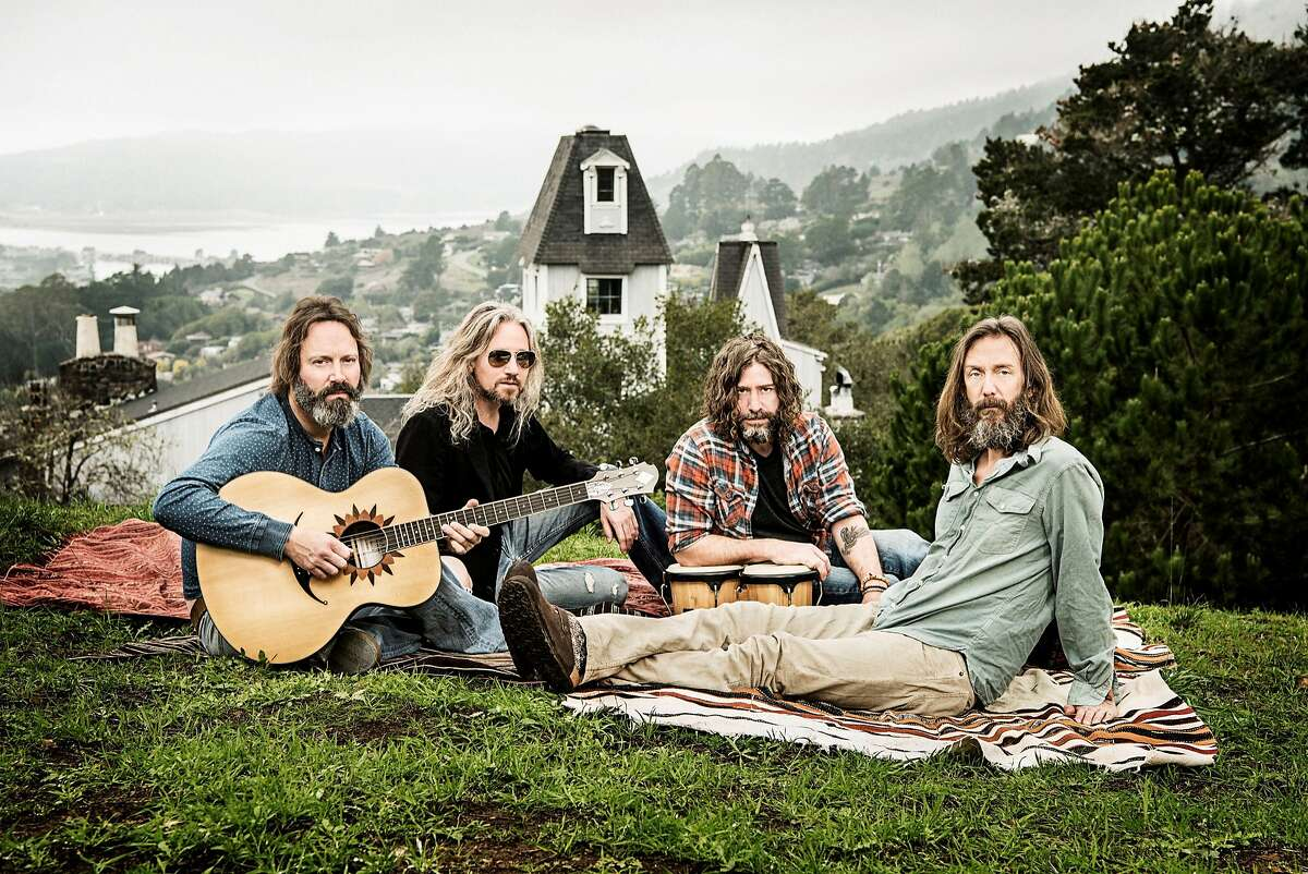 """The Chris Robinson Brotherhood plays the Fillmore Auditorium in San Francisco Thurs. through Sat., Dec. 8-10, 2016, �in support of their new release """"If You Lived Here, You Would Be Home By Now,"""" recorded in Stinson Beach, CA"""