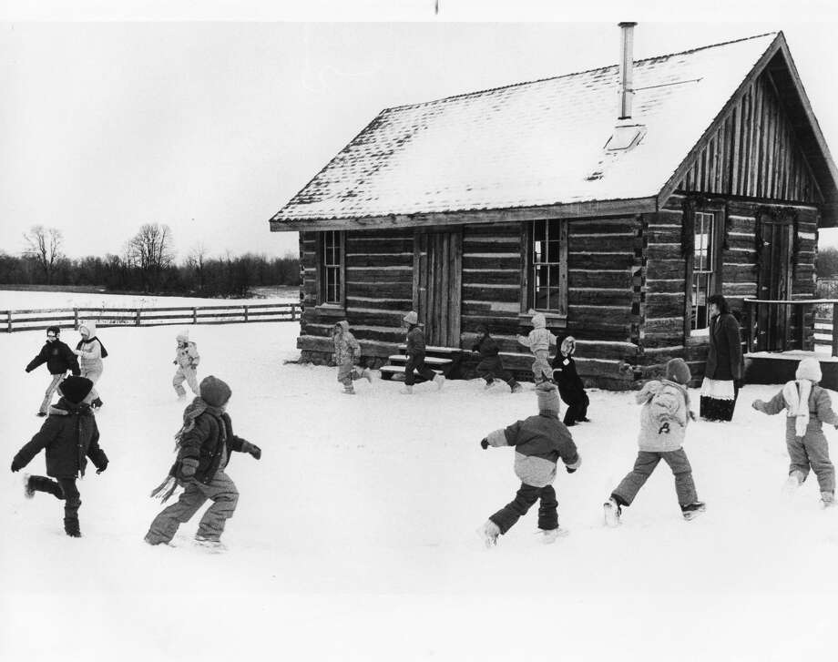 The 1870 Homestead and 1880 log school at the Chippewa Nature Center is alive with sights, sounds and tastes of rural Christmas of long ago. Unknown date Photo: Daily News File Photo