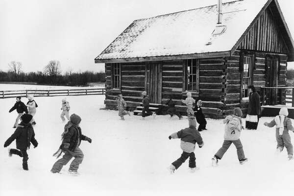 The 1870 Homestead and 1880 log school at the Chippewa Nature Center is alive with sights, sounds and tastes of rural Christmas of long ago. Unknown date