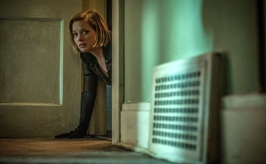 """Jane Levy reconsiders her life choices in a scene from """"Don't Breathe."""" Photo: Sony / © 2016 CTMG, Inc. All rights reserved.**ALL IMAGES ARE PROPERTY OF SONY PICTURES ENTERTAINMENT INC. FOR PROMOTIONAL USE ONLY. S"""