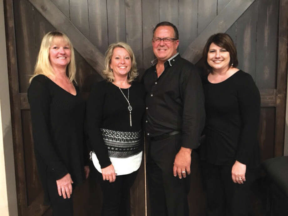 From left are Building a Brighter Holiday organizers Julie Fleck, Kathy Malawy, Randy Malawy and Mackenzie Breihan.