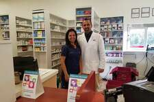Pharmacist Alok Bhatt and his wife, Charul Bhatt, opened Trumbull Pharmacy on Broadway Road in the Long Hill Green last month.