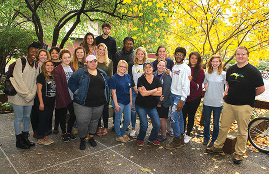 Students in SIUE's Community Action course are helping grant holiday wishes.