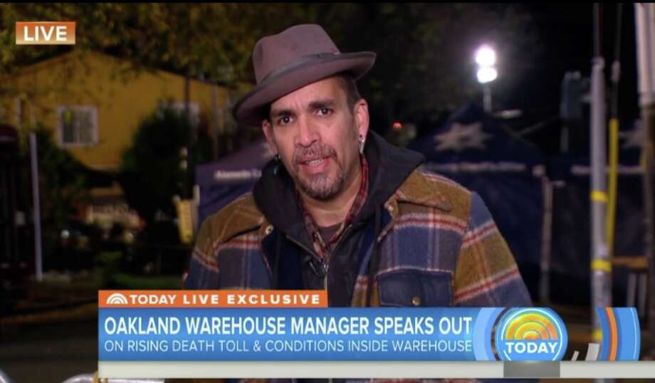 Derick Ion Almena on the Today show, Tuesday, Dec. 6, 2016. Photo: Today