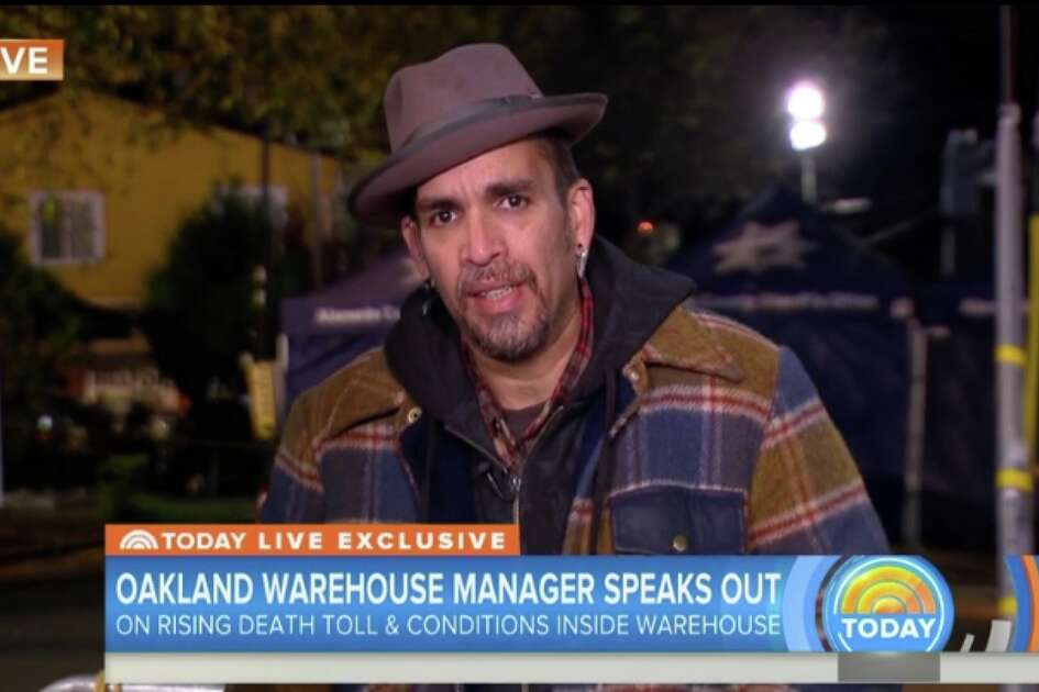 Derick Ion Almena on the Today show, Tuesday, Dec. 6, 2016.