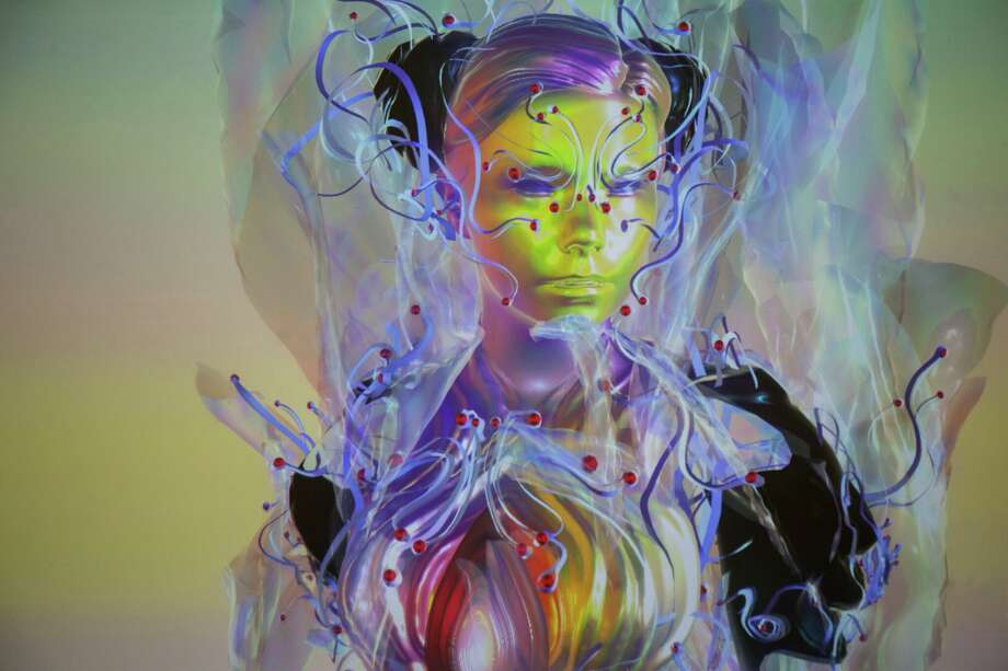 """""""Bjork Digital,"""" a five-room installation of digital and video works by the Icelandic artist Bjork, is among the highlights of the 2016 Day for Night Festival. Photo: Courtesy Of The Artist"""