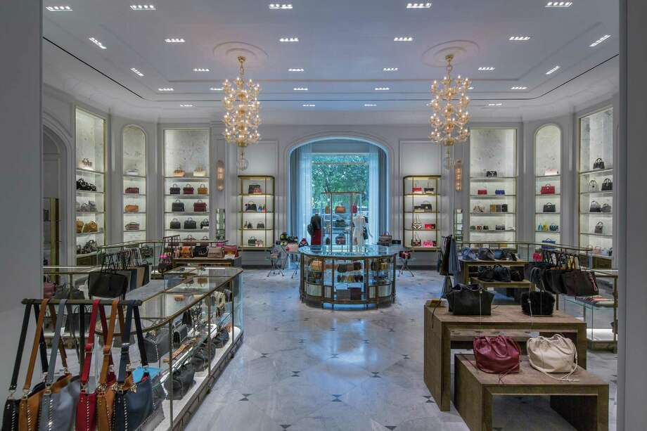 Bergdorf Goodman unveiled this fall its new main floor, which features luxury accessories and jewelry. Photo: Thaddeus Rombauer /TNS / Pittsburgh Post-Gazette