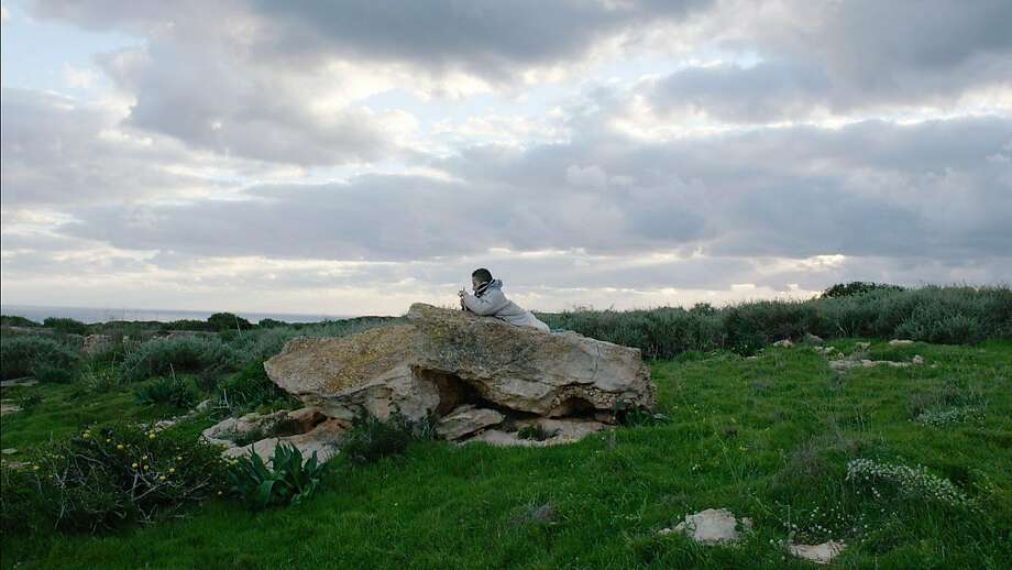 """Samuele struggles to hold on to his childhood on the Italian fishing island of Lampedusa, which thousands of refugees have died trying to reach, in the captivating documentary """"Fire at Sea."""" Photo: Kino Lorber"""