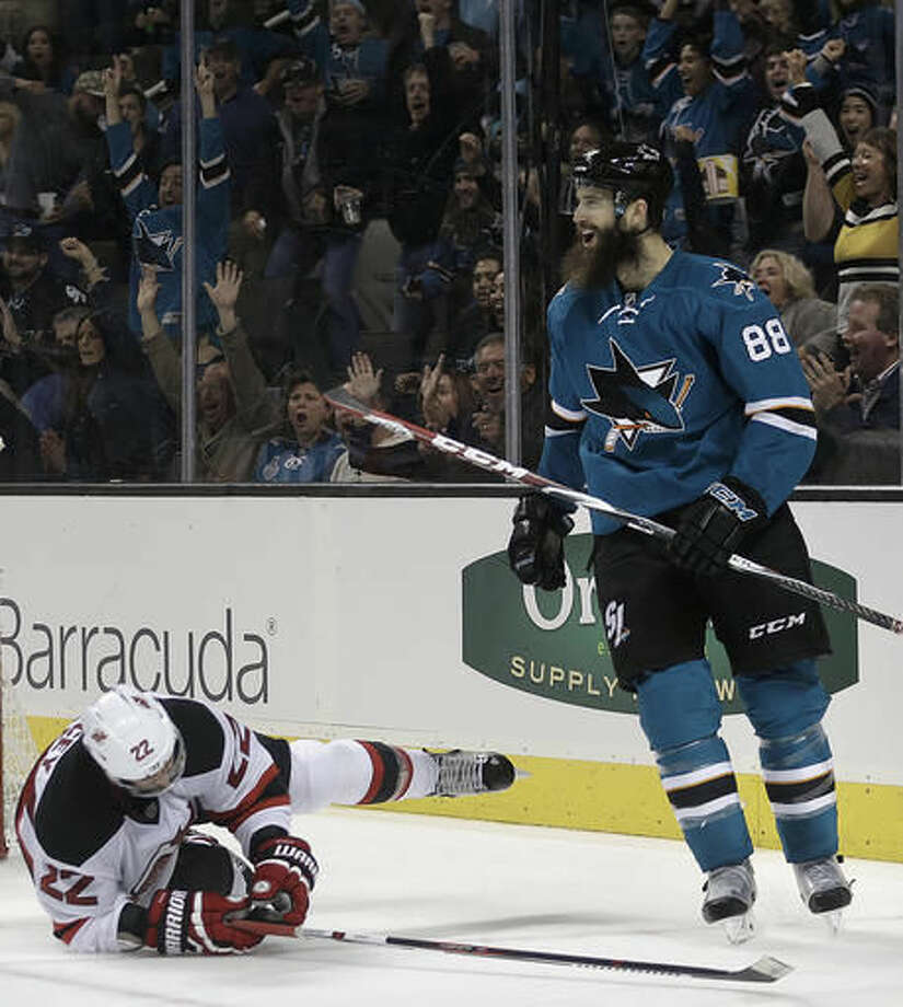 info for b73c0 ac6d4 Sharks sign D Brent Burns to 8-year contract extension - The ...