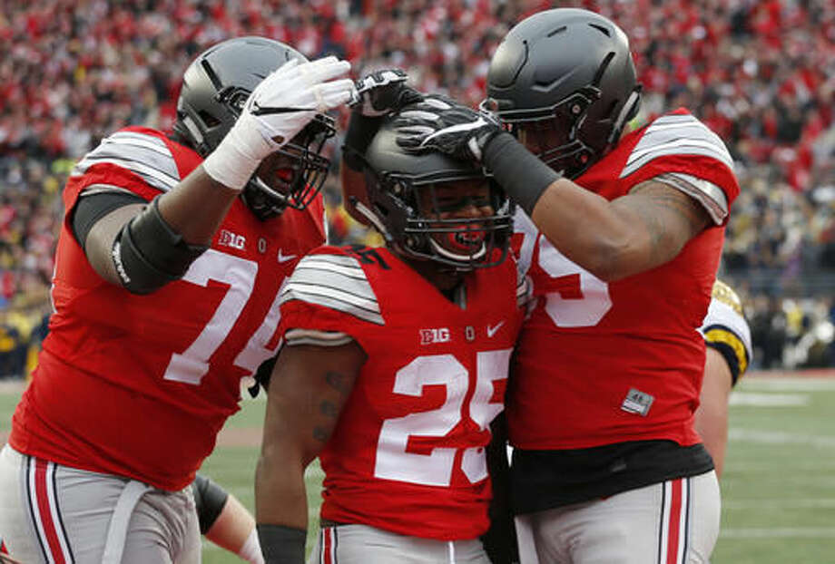 official photos 973a7 a4852 Michigan-Ohio State get season-best rating for ESPN network ...