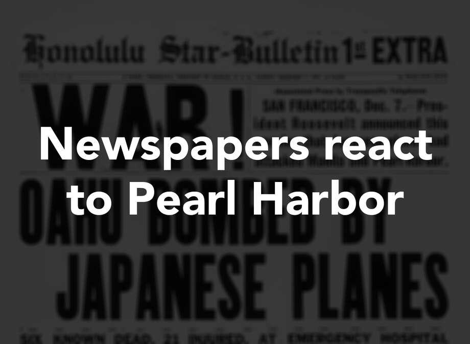 newspapers react to pearl harbor attack connecticut post newspapers react to pearl harbor attack