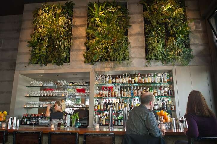 The bar at Maven Restaurant in San Francisco, Calif., is seen on Thursday, April 27th, 2012.