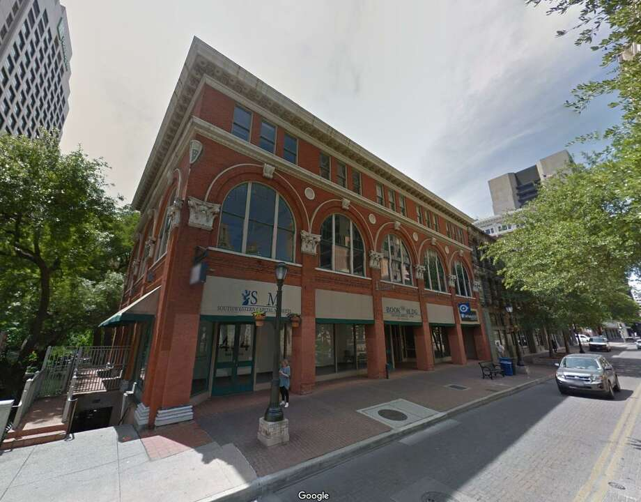 A company affiliated with AMS Commercial Real Estate of Austin has bought several buildings, including the Book Building on the River Walk. Photo: Google Maps