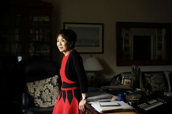Congresswoman Doris Matsui sits in her office at the Rayburn Building in Washington, D.C. on Tuesday December 6, 2016. The Congresswoman was born in an internment camp and is now pushing back on anti-Muslim rhetoric.