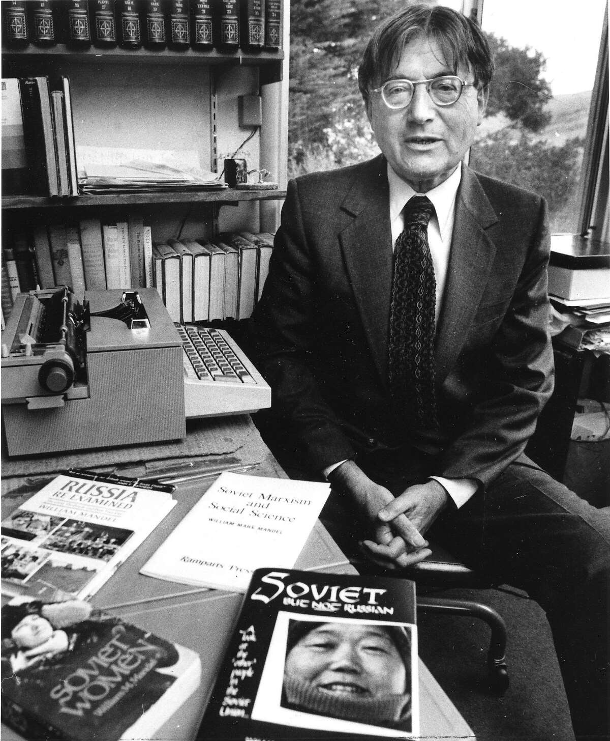 William Mandel, known Bill Mandel was on KPFA. He recalls his time on the stand in front of the House UnAmerican Activities Committee. Photo ran in This World