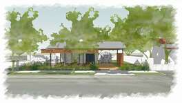 Local developer James Lifshutz hopes to transform the former Citgo station at 1203 S. Alamo St. into a 1,400-square-foot neighborhood convenience store with fresh, grab-and-go grocery options, a food truck and a 1,000-square-foot canopy where visitors can eat food and drink beer.