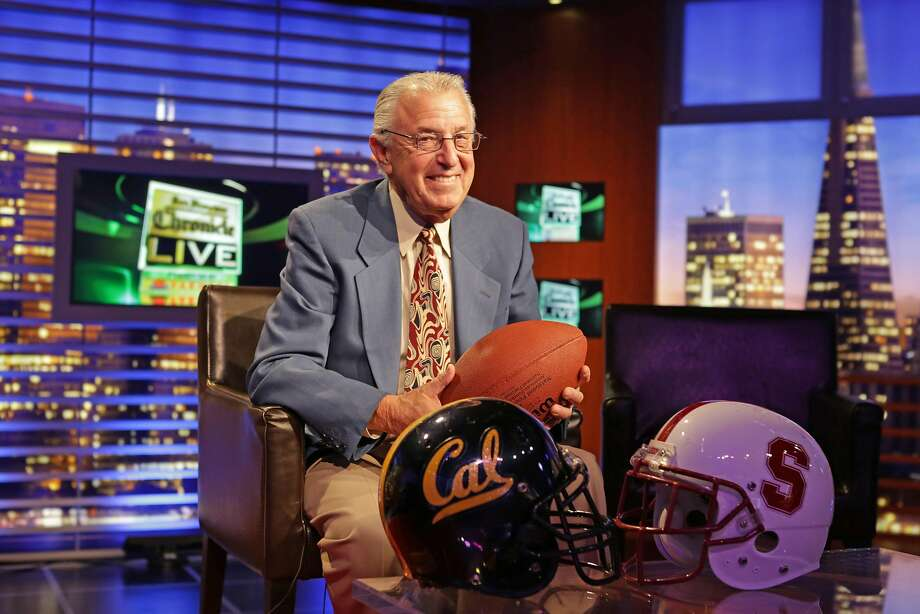 In addition to his boxing broadcasts, Barry Tompkins is a college football and basketball announcer. Photo: Rashad Sisemore, The Chronicle
