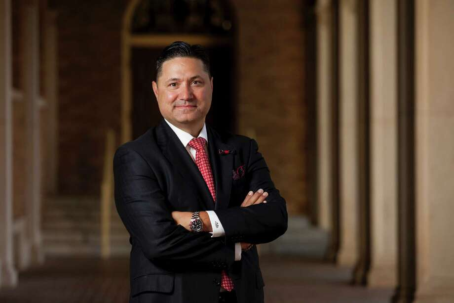 Juan Sanchez Muñoz, 49, will become the University of Houston-Downtown's president in April. Photo: Provided By The University Of Houston-Downtown
