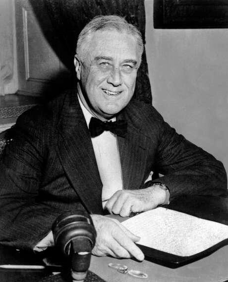 President Franklin D. Roosevelt. (Photo credit should read AFP/AFP/Getty Images) Photo: AFP, Staff / AFP