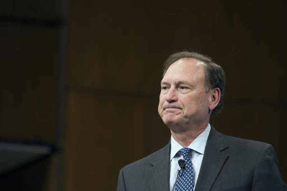 """Supreme Court Justice Samuel Alito used """"alien"""" or """"aliens"""" 132 times in a 31-page decision allowing the government to keep immigrants locked up indefinitely, without bail, while awaiting a hearing on their possible deportation or right to political asylum. Photo: Cliff Owen"""