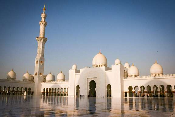 One of the largest mosques in the world, the Sheikh Zayed Grand Mosque was conceived by the first president of the UAE.