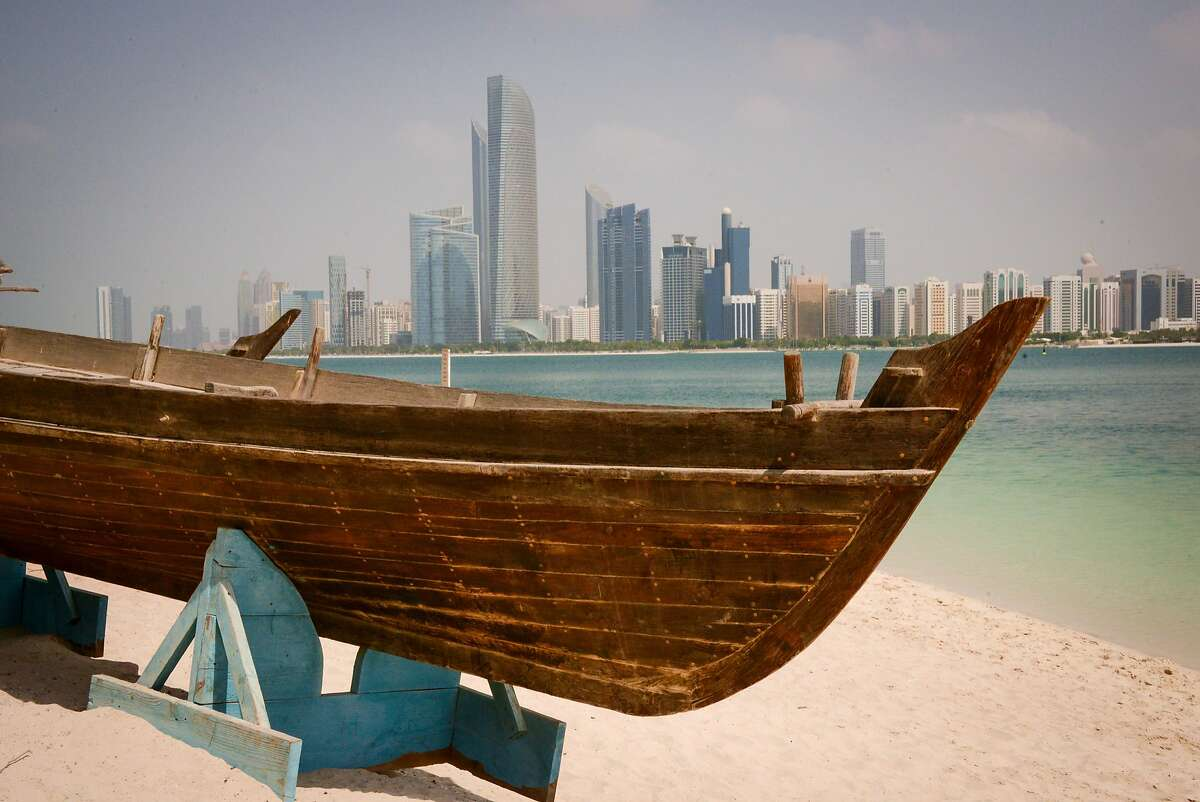 Shield your eyes from the glitter of modern-day Abu Dhabi for a second, and the ancient also appears.